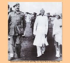 Ayub Khan and Jinnah