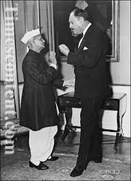 Ayub Khan and Lal Bahadur Shastri