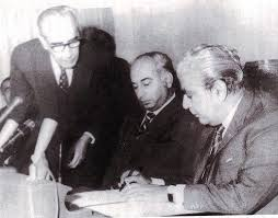 General Yahya Khan hands over power to Bhutto