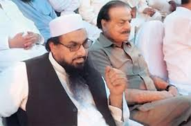 Hafiz Saeed and General (R) Hameed Gul