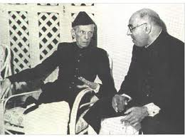 Two conspirators, Jinnah and Liaqat Ali
