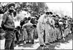 Pakistan army Generals are surrendering in 1971