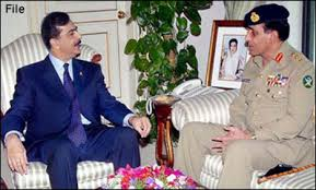 Syed Yousuf Raza Gillan and General Pervez Kayani