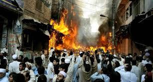 Pukhtun's Areas are burning