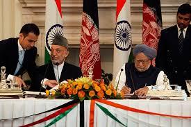 Hamid Karzai and Manmohan singh