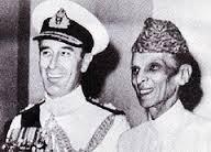 lord Mountbatten and Jinnah