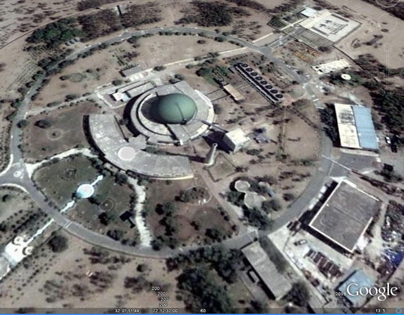 Khushab Nuclear complex , Pakistan.