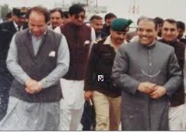 Nawaz Sharif and Zia ul Haq.