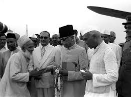 Maulana Abul Kalam Azad with other Muslims