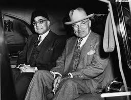 Liaqat Ali andPresiden Truman