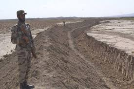 Ditch on the Durand line