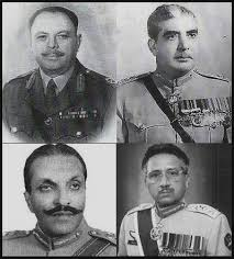 Pakistani military dictators