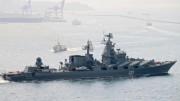 Russia deploys missile cruiser