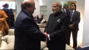 Modi-Nawaz Sharif Handshake