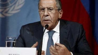 Lavrov says pre-conditions 'unacceptable'