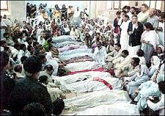 Massacre of the minorities in Pakistan