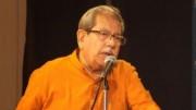 Professor Anisuzzaman received the death threat