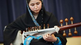 Afghanistan's first female conductor