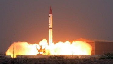 tests nuclear-capable missile