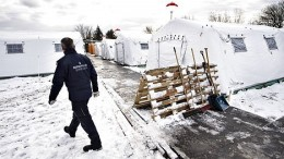 Denmark to erect more tents