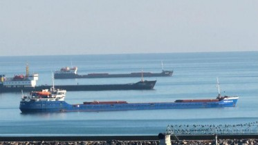 Russian commercial ships