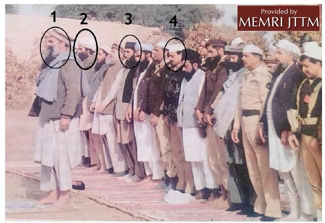 Afghan Mujahideen leaders with General Hamid Gul and General Aslam baig.