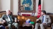Russian Ambassador brief Karzai