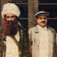 Haqqani and General Hamid gul Ex. DG ISI