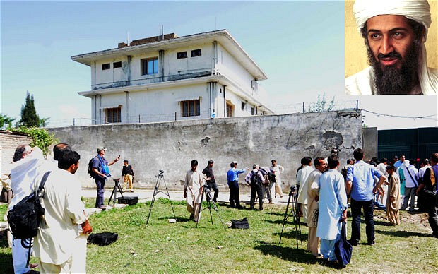 Osama bin laden's residence in Pakistan