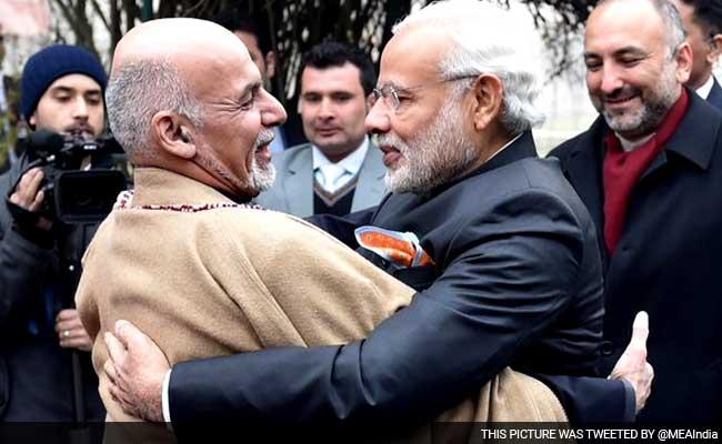 President Ghani and Prime minister Modi