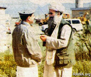 General Hamid Gul and Sayaf
