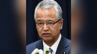 Japan Minister quits