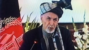 Ghani Marks Soviet Troops Withdrawal Anniversary