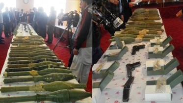 Huge cache of Iran-made explosives