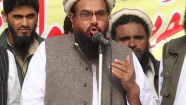 Hafiz Saeed warns India