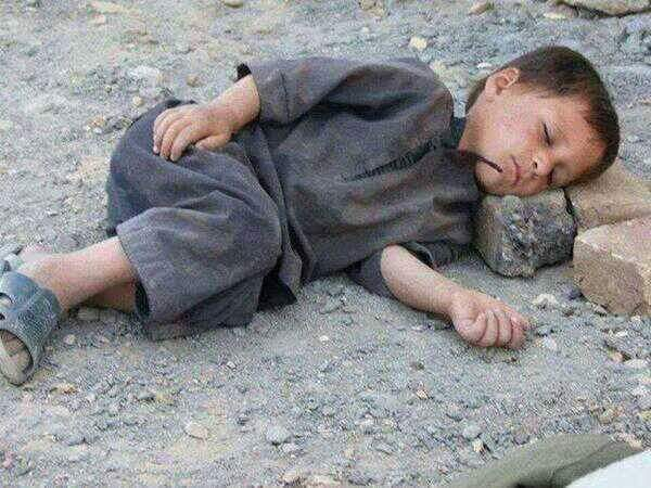 Where are human rights organizations? Pashtun Kid .