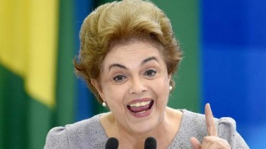 Brazilian President supporters