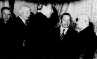 Brezhnev and Dauk Khan