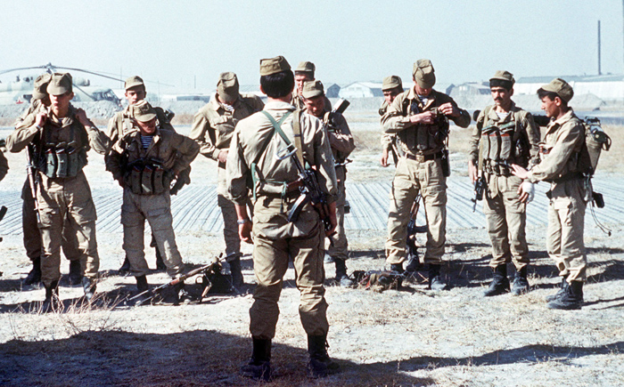 The Soviet army was preparing for the invasion on Afghanstan