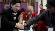 Exiled Tibetans election