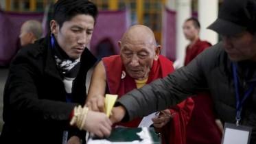 Exiled Tibetans election