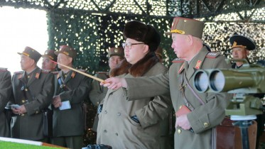 N. Korea launches missiles
