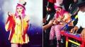 Madonna sheds tears