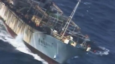 Argentina sinks Chinese boat