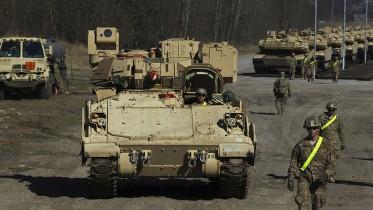 US troop build-up in Europe