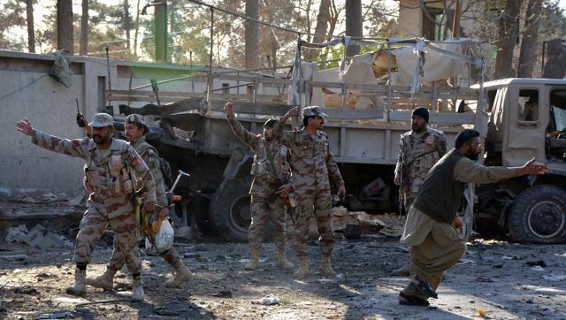 Suicide bomber hits KPK ,Pakistan