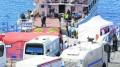 Migrants sent back from Greece arrive in Turkey