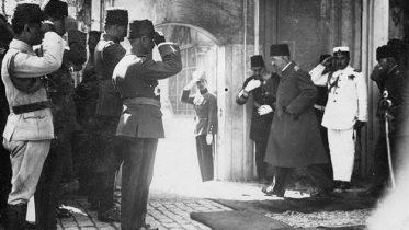 The fall of Ottoman's Empire