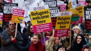 Refugees welcoming countries