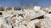 mass grave in Syria's ancient Palmyra